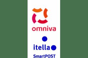 smartposti ja itella omniva pakiautomaadi logo