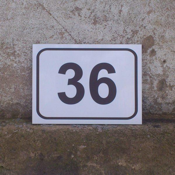 Majanumber - aadressi silt