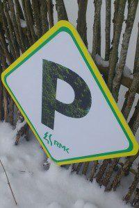 Parkla ala märk looduses