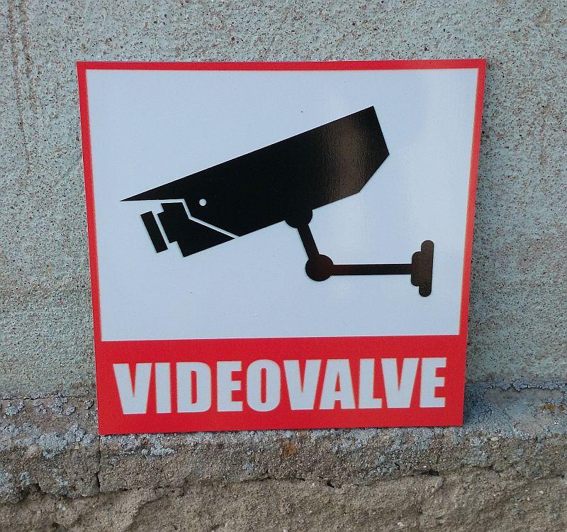videovalve silt 25 x 25 cm