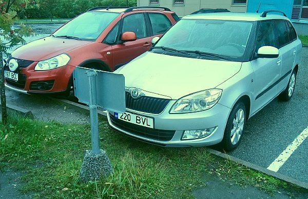 parkimise silt raskusega