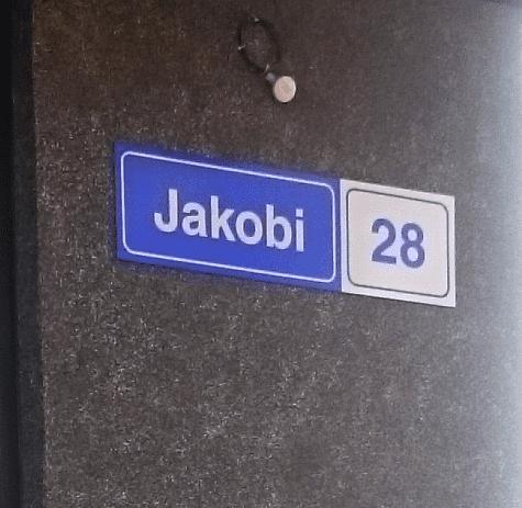 Maja aadress 32 cm
