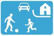 Õueala liiklusmärk
