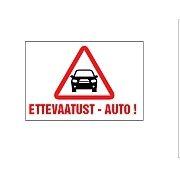 ettevaatust auto