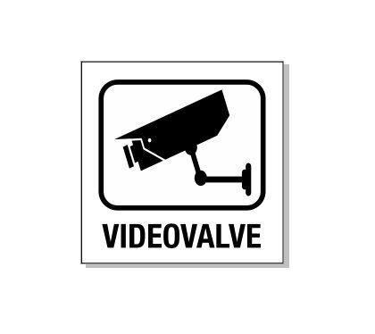 helkur kleebis mustvalge videovalve