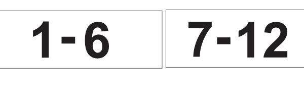 trepikoja numbrid