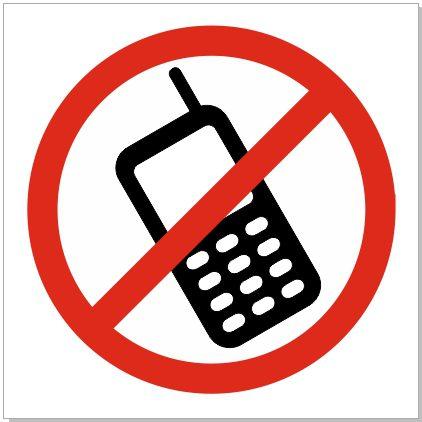 Mobiiltelefonidele keelatud