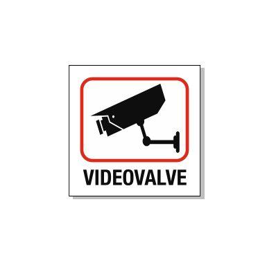 videovalve silt punase raamjoonega