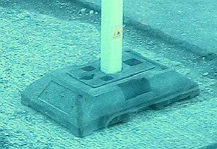 Betoonist raskus siltide postide paigaldamiseks