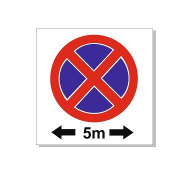 5 m ulatuses parkimist keelavast märgist on keelatud parkida