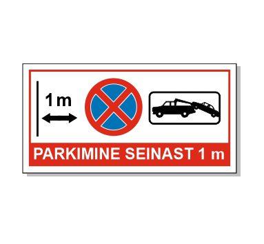 parkimine seinast 1 meeter